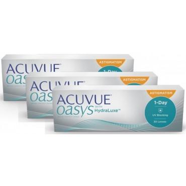 Acuvue Oasys 1-Day for Astigmatism (90)  contactlenzen van www.interlenzen.nl