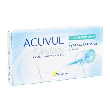 Acuvue Oasys for Presbyopia  contactlenzen van www.interlenzen.nl