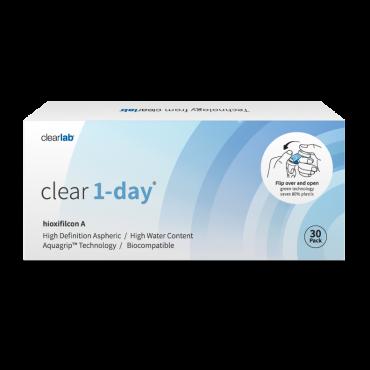 Clear1-day (30) contactlenzen van www.interlenzen.nl