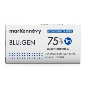 Blu:gen contact lenses 6-pack