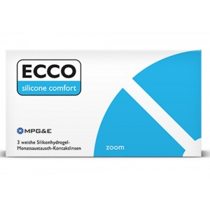 Ecco Silicone Comfort Zoom contact lenses