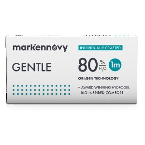 Gentle 80 contact lenses 3-pack